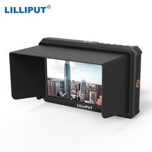 ליליפוט A5 שידור צג עבור 4 k מלא HD מצלמת וידאו & DSLR עם 1920x1080 ברזולוציה גבוהה 1000:1 ניגודיות יישום