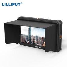 LILLIPUT A5 moniteur de diffusion pour caméscope 4 K Full HD et DSLR avec 1920x1080 haute résolution 1000:1 Application de contraste