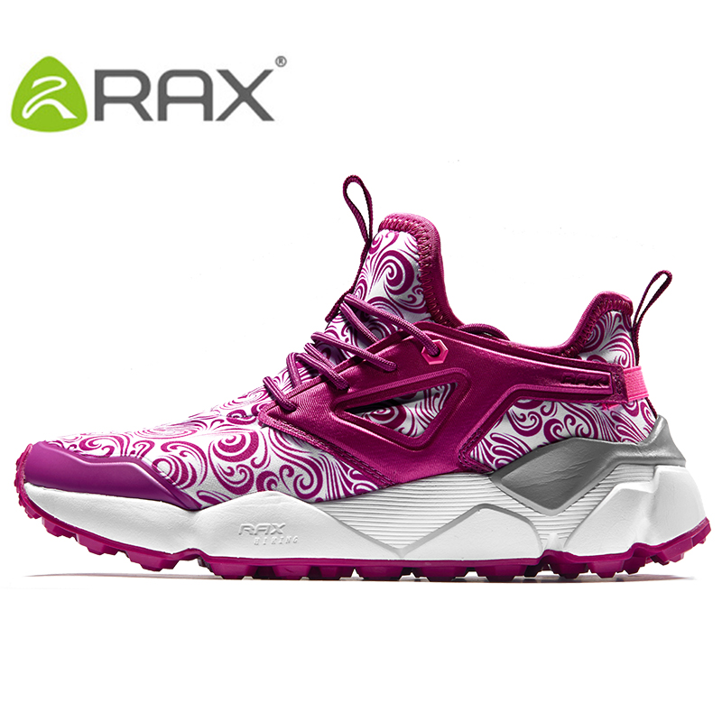RAX Women's Hiking Shoes Jogging  Anti-slip Mountain Shoes Men Winter Warming Shoes for Professional Women Treking Shoes 2017 new anti slip women winter martin