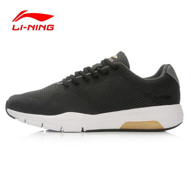 Li-Ning Retro Walker Men's Walking Shoes Textile Breathable Sneakers LiNing Sports Shoes For Man ACGL047 YXB038 original li ning men professional basketball shoes