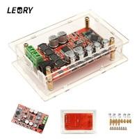 LEORY TDA7492P Upgraded 50W Wireless Bluetooth Digital Amplifier Board Chips CSR4 0 HIFI Audio 5532 Dual