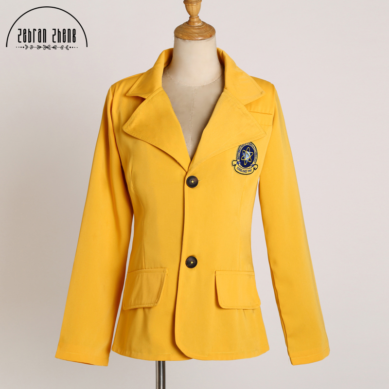 New Arrival Spider-Man Homecoming Peter Yellow jacket For Halloween Spiderman Cosplay Costume Blazer Custom Made