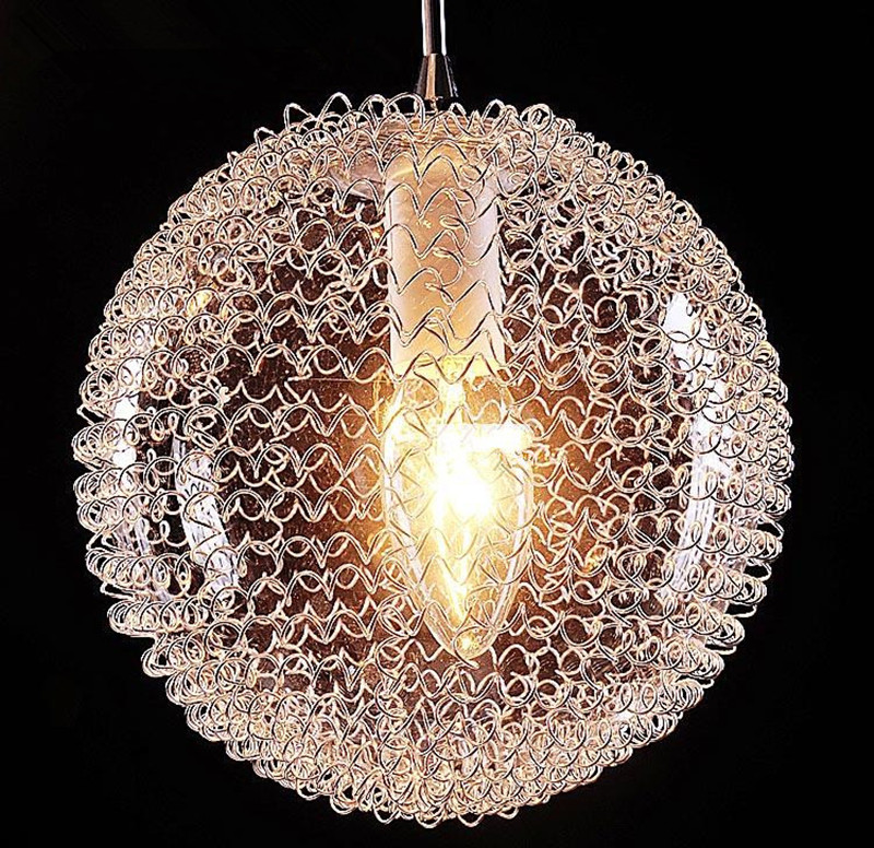 Aliexpress Buy Modern Large LED Chandeliers Stair Long Globe – Chandelier Glass Balls