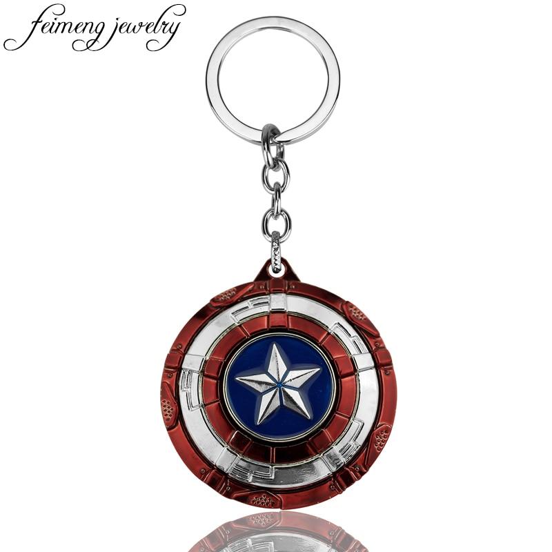 the-avengers-captain-america-keychain-superhero-star-shield-pendant-keyring-car-key-chain-accessories-batman-font-b-marvel-b-font-key-chains