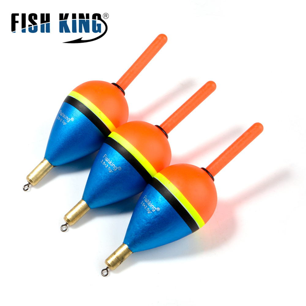 FISH KING 1pcs Fishing Float Barguzinsky Fir Float  2 0+2 0gr/3 0+2 0gr/4 0+2 0gr/5 0+2 0gr Copper
