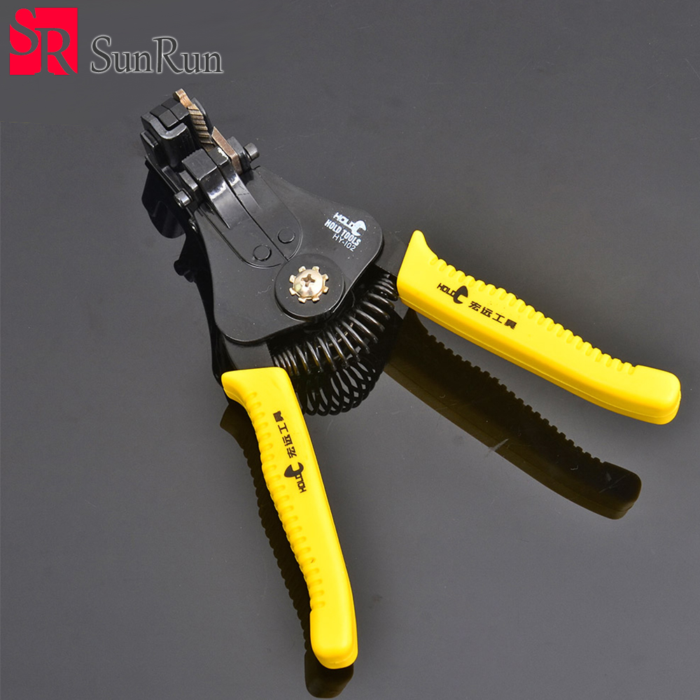 HOLD Portable Wire Stripper Pliers Crimper Cable Stripping Crimping ...
