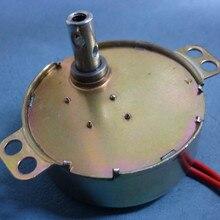 TYD49 CW/CCW Круглый коготь-полюс с постоянным магнитом синхронный мотор 49TYD 220V 5RPM 15RPM 33RPM напольные вентиляторы с качающейся головкой