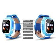 Q90 gpsป้องกันสูญหายsmart watchเด็กอิเล็กทรอนิกส์สมาร์ทนาฬิกาข้อมือทารกอเนกประสงค์ของขวัญภาษาอังกฤษ