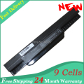 K53 laptop battery for Asus A43 A53 K43 K53 X43 X54 A43B A53B K43B K53B k53sv X53S X43B Series,A32-K53 A42-K53 9 cells