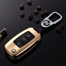 folding car remote key case for VW Golf Jetta Skoda Yeti Superb Rapid  Waterproof Silicone