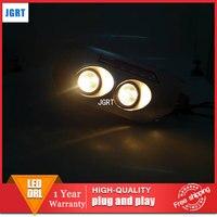 car styling For Toyota Cruiser FJ LED DRL For Cruiser FJ led fog lamps daytime running light High brightness guide LED DRL