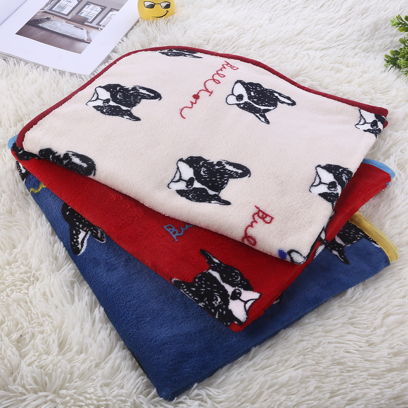 Home Supplies Hot Selling Dog Blanket Pet Cushion Dog Cat Bed Soft Warm Sleep Mat Wholesale drop