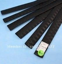 Skid-proof Flower-lined Heat Shrinkable Tube/black/good flexibility/ -55Degrees Celsius ~ 105Degrees Celsius