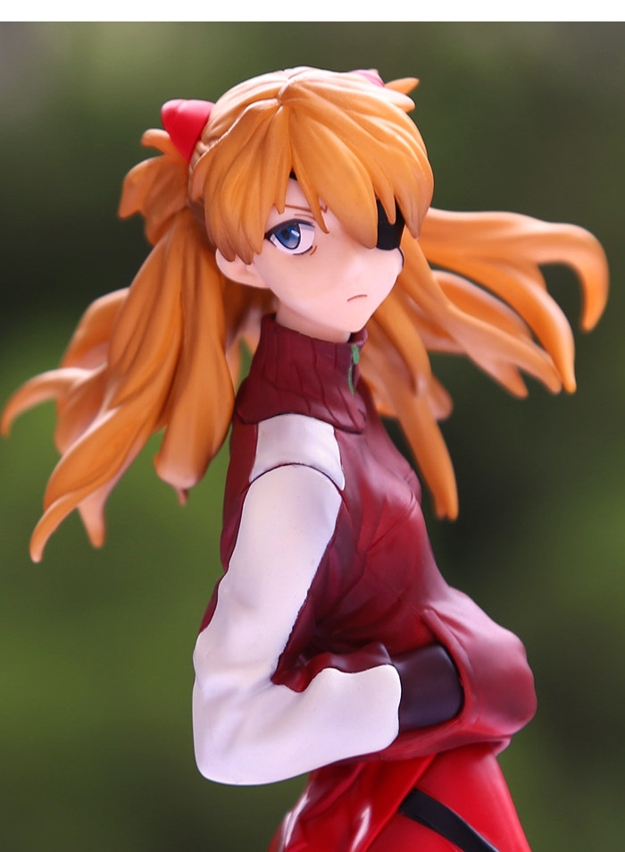 Anime EVA Neon Genesis Evangelion Action Figure SORYU ASUKA LANGLEY PVC Collection Model Toy Gift With Box