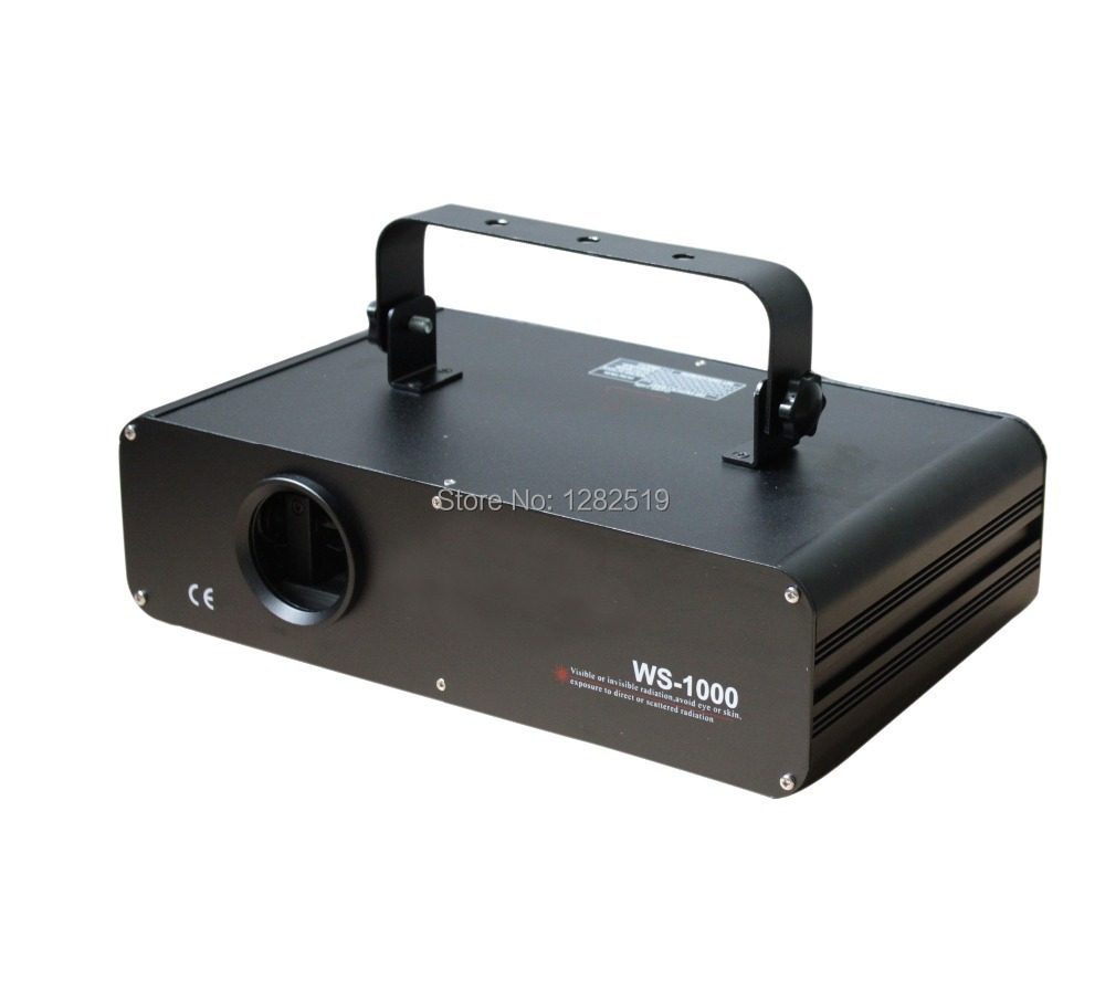 high quality:1000mW 1W FULL COLOR RGB ILDA DMX DJ Stage Laser Light Disco 30KKPS Scanner