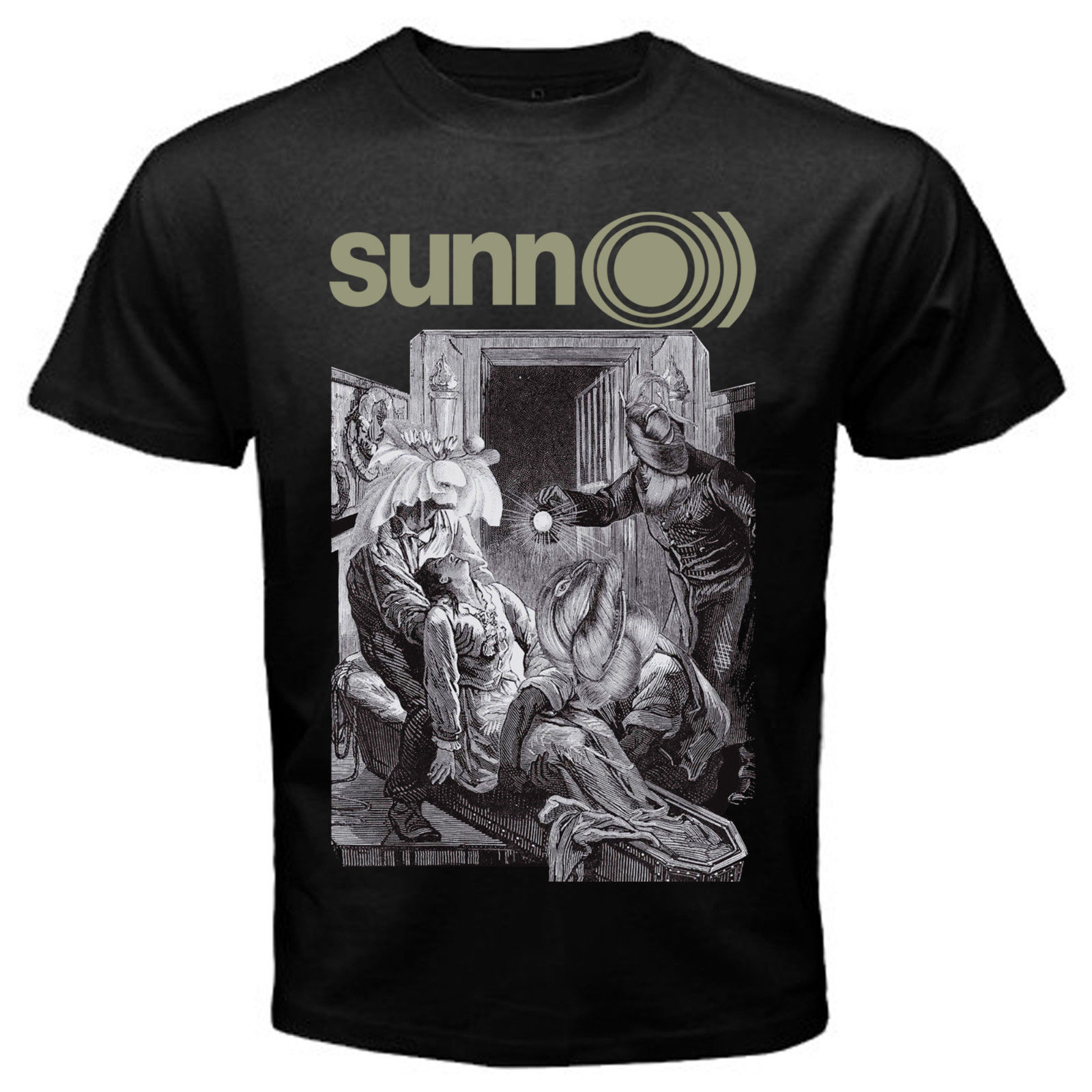 SUNN O))) T SHIRT METAL BAND Ava Size S / M / L / XL / XXL NEW SHIRT BORIS ULVER ...