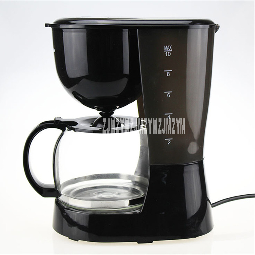 SR-1003 automatic drip coffee machine home dual-use automatic coffee machine insulation tea machine 220-240V xeoleo mini coffee maker automatic single cup coffee machine drip american coffee with ceramic cup as gift automatic insulation