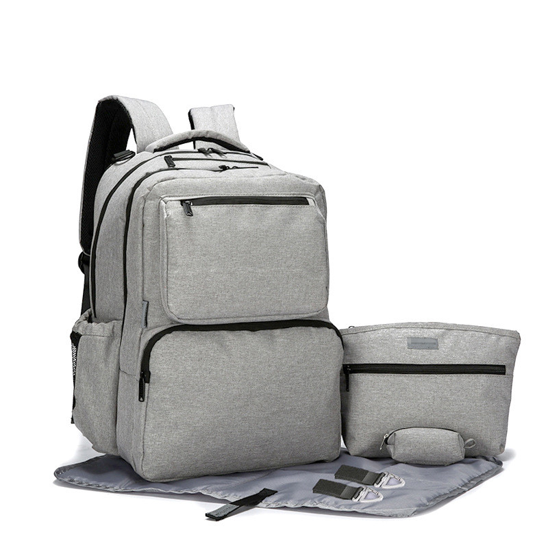 Large Capacity Baby Diaper Bag Travel Backpack Nappy Changing Stroller Bag Set Organizer Mummy Moms Maternity Baby Nursing Bag цена 2017