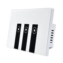 WiFi Smart Alexa Light Switch, 3 Gang Touch Wall Plate Light Switch Panel