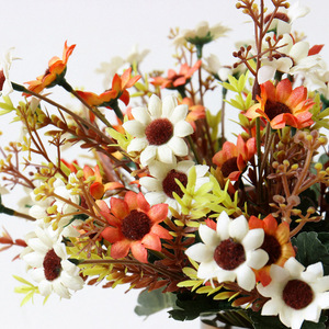 Artificial Daisies Flowers Sil