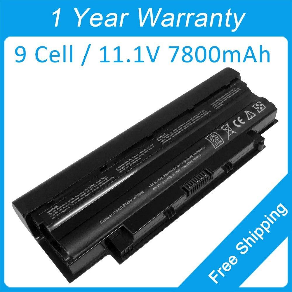 7800mah laptop battery dell Inspiron M501D M5010D M5030D N3010 N5040 07XFJJ 9JR2H 383CW J1KND WT2P4 P17F001 P19G001 - shenzhen Z&Z electronic technology Co.,Ltd. store