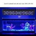 Marsaqua switchble 300 w led coral reef marine aquarium led iluminação de espectro completo