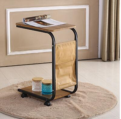 Portable tea table with a few side table with round table, simple tea table,.