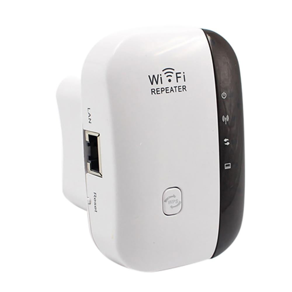 US/EU/UK Plug Wireless Wifi Repeater WiFi Routers 300Mbps Range Expander Signal Booster Extender WIFI Ap Wps Encryption