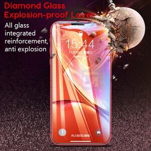Image 5 - 99D Gebogen Rand Beschermende Glas Op De Voor Iphone X 8 7 6S Plus Cover Gehard Glas Voor Iphone xs Max Xr Screen Protector Film