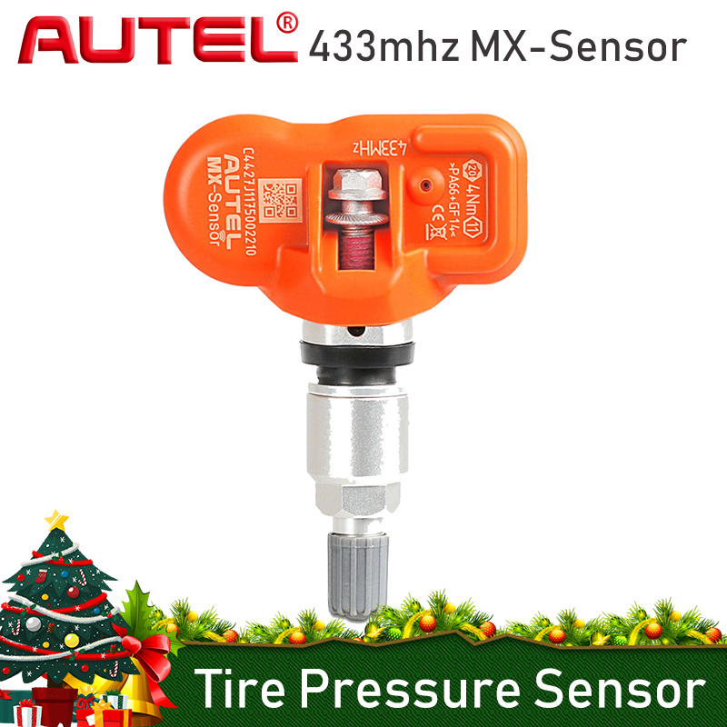 Autel MX-sensor 315MHz 433MHz Tyre Pressure Sensor Programmable For Tire Pressure Universal TPMS Sensor MX Sensor Clone Learn