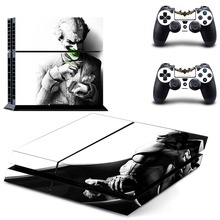 Suicide Squad Harley Quinn Joker Superman PS4 Skin Sticker Decal Vinyl for Playstation 4 Console and 2 Controllers PS4 Sticker