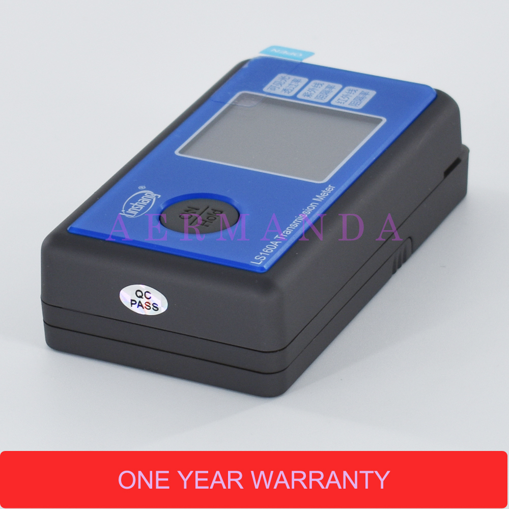 LS160A Solar Film Transmission Meter Light Transmittance Meter UV IR rejection Meter Window Tinting Tester in Spectrometers from Tools
