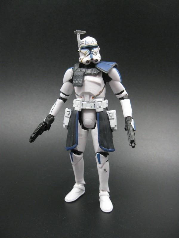 цена на 3.75 '' figure action Star War Clone Wars Captain Rex Free shipping