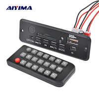 AIYIMA Bluetooth 4,0 tablero Amplificador 3 W * 2 Amplificador AUX MP3 WAV mono decodificador de Audio Junta receptor Bluetooth DC3.7-5V