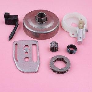 Image 4 - Llanta de rueda dentada para Husqvarna 36 41 136 137 141 142, bomba de aceite, engranaje helicoidal, placa de barra, motosierra, repuesto de pieza de repuesto
