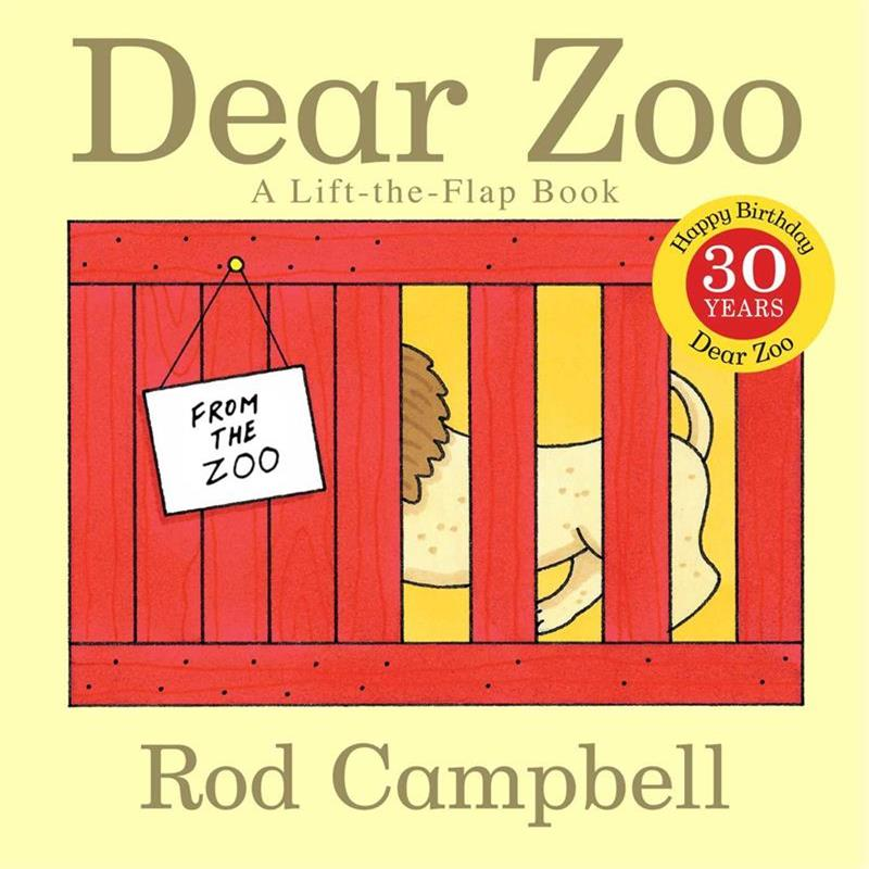 Dear Zoo By Rod Campbell Educational English Picture Book Card Story Book For Baby Kids Children Gifts