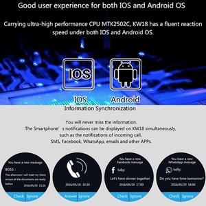 Image 4 - Kaimorui inteligentny zegarek mężczyźni Passometer monitora tętna zegarek telefonu karty SIM dla IOS Android Bluetooth zegarek inteligentny zegarek