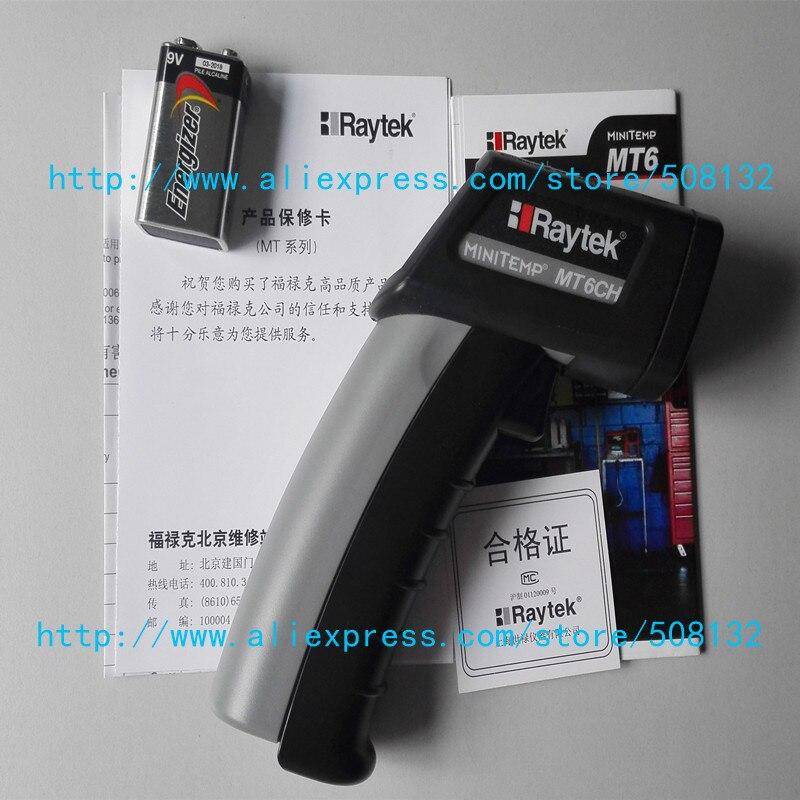 Raytek MT6 Infrared Mini Temp Laser Thermometer IR Gun MT6CH