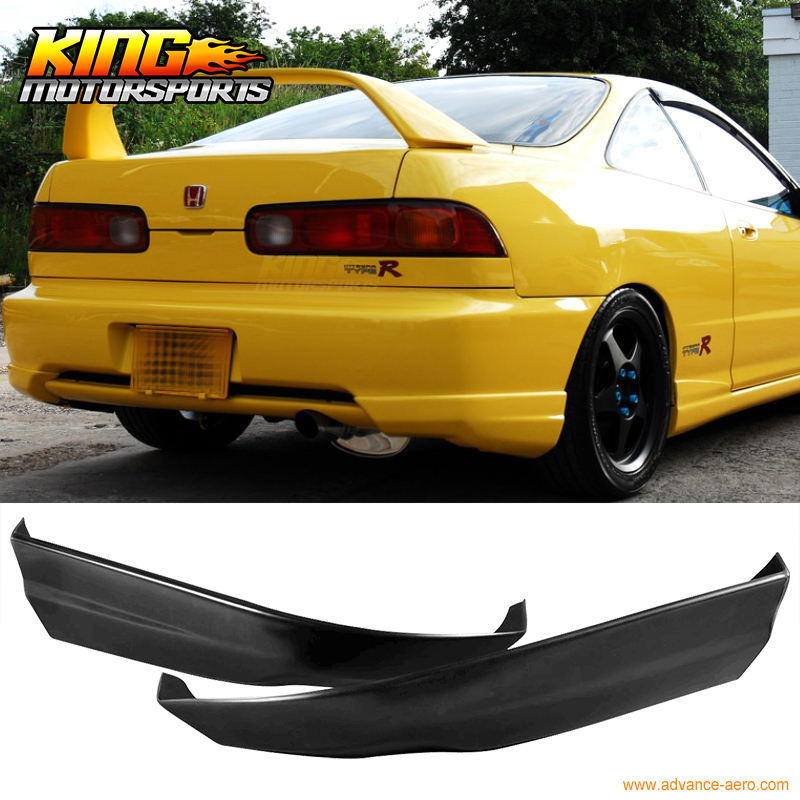 For 98 01 1999 2000 Acura Integra PU Rear Bumper Lip
