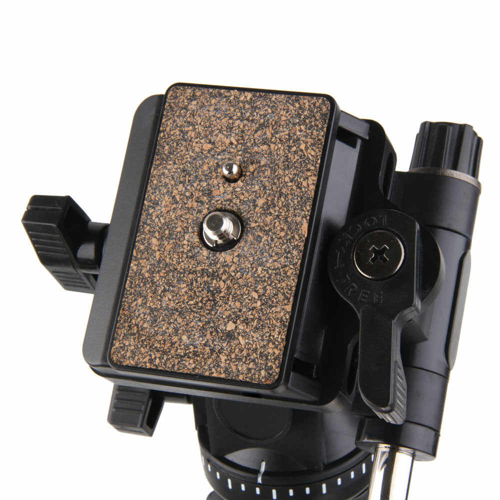 2018 Yüksek Kaliteli Yunteng 288 Kamera Monopod VCT-288 Unipod Tutucu ve Sıvı Pan Kafa Canon Nikon Sony Için