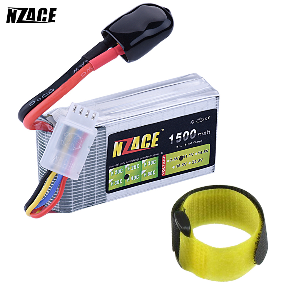 New Original NZACE Power LiPo Battery 11.1V 1500Mah 3S 40C MAX 80C T/XT60 Plug For RC Car Airplane Helicopter Part bosch gll 2 80 p bm1 l boxx 0 601 063 208