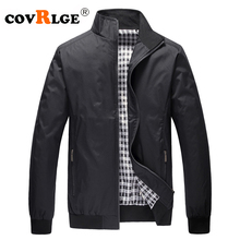Covrlge Mens Jackets Plus Size 3XL 2019 New Casual Jacket High Quality Spring Regular Slim Coat Wholesale MWJ143