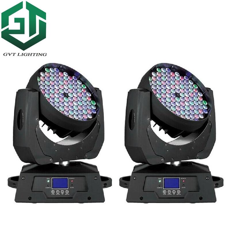 Hot Sell 2pcs/lot LED Rgbw 108x3w Moving Light Led 108 Leds Wash Moving Head Light