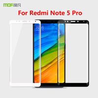 SFor Redmi Note5 Pro Original MOFi 3D Curved Full Cover Tempered Glass Screen Protector Film For