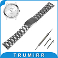 18mm 20mm 22mm Quick Release Watchband for Omega Watch Band Stainless Steel Strap Bracelet Black Silver + Spring Bar + Tool