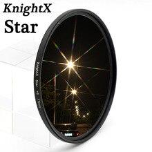 KnightX  8 Point 8PT Star Filter Line 52mm For Nikon D3200 D3100 D5100 D5000 D60 D40X 18-55mm lDSLR CAMERA 2015 newest