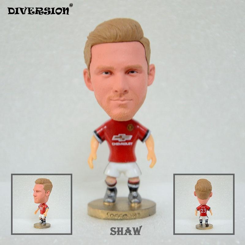 Soccer Star 23# SHAW (MU-2018) 2.5 Action Dolls Figurine soccerwe