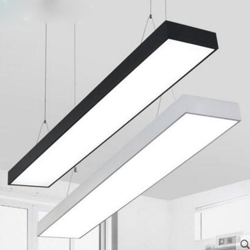 Commercial Led Office Lighting: LED Office Chandeliers Strip Lights Rectangular Studio