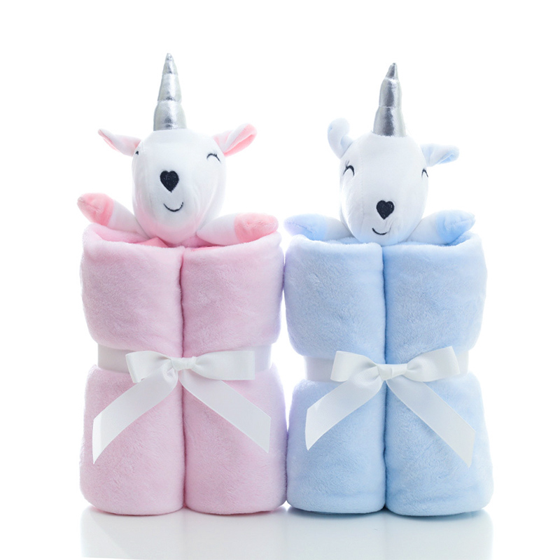 Muslinlife High Quality New Arrival Autumn Blanket Flannel Baby Cuddle Blanket Unicorn Plush Kids Super Soft Comfort Blanket new 3d printed fox super warm flannel fleece sherpa plush double face blanket for sofa bed travel soft throw blanket fox plaids