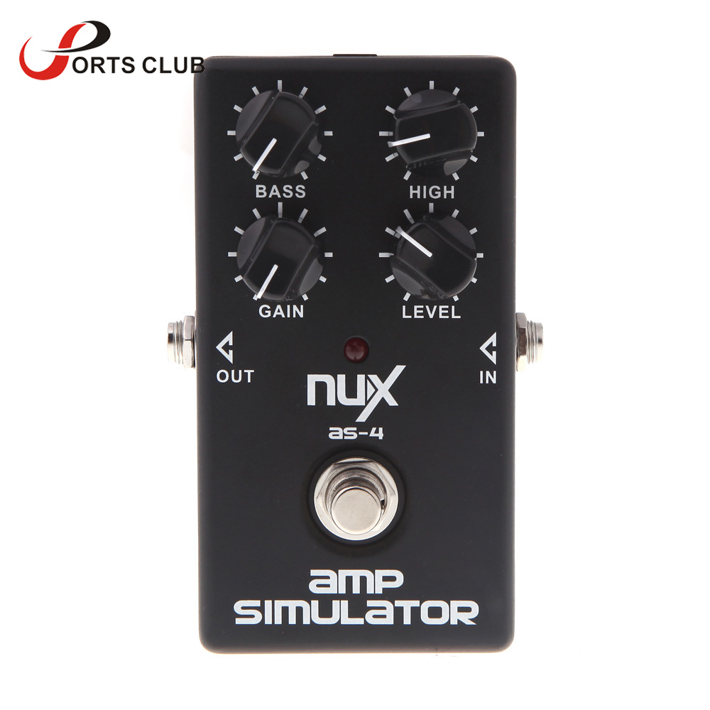 Related keywords amp suggestions for line 6 guitar amps - Nux As 4 Amplifier Simulator Effect Pedal Guitar Electric Effect Pedal True Bypass High Quality